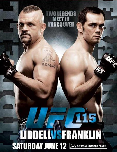 Liddell vs Franklin UFC 115